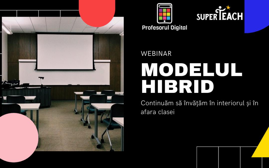 Webinar Profesorul Digital